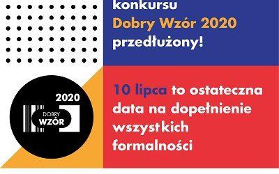 Termin zgłoszeń do konkursu Dobry Wzór 2020 przedłużony!