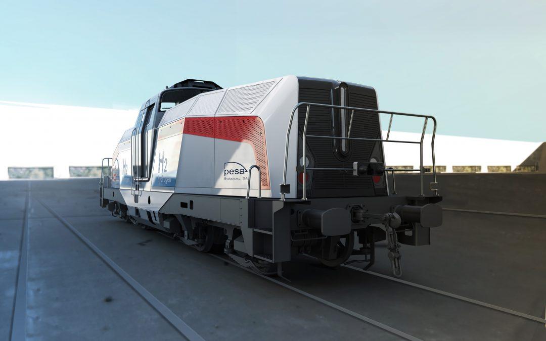lokomotywa wodorowa: SM42-H2 PESA