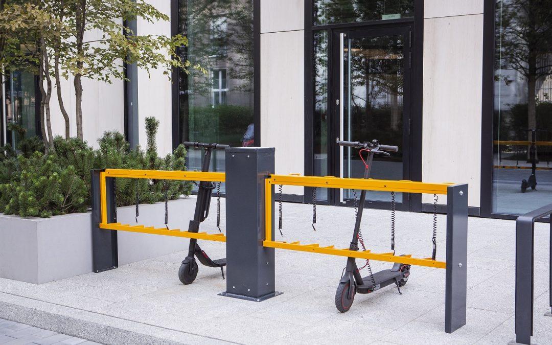 Stacja ładowania hulajnóg i rowerów elektrycznych eFeeder